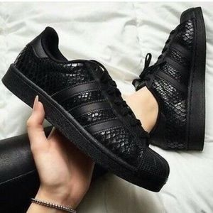 Adidas Snakeskin Superstar Sneakers